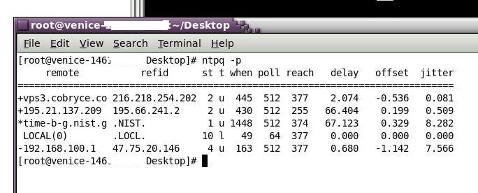 Venice - Setting up NTP Servers – Help Center